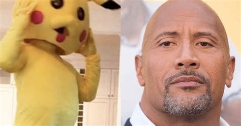 dwayne the rock johnson costume the rock surprised his daughter by dressing up as her