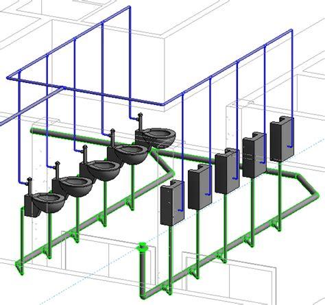 revit mep 2012 tutorial viewing models in 3d youtube revit mep tutorial creating drain route cadnotes