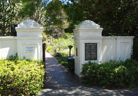 Stellenbosch Botanical Gardens Stellenbosch Botanical Gardens