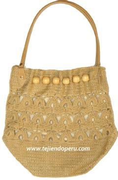 cartera o bolso con asa tejido a crochet youtube tutorial cartera o bolso con cuentas de madera tejido a