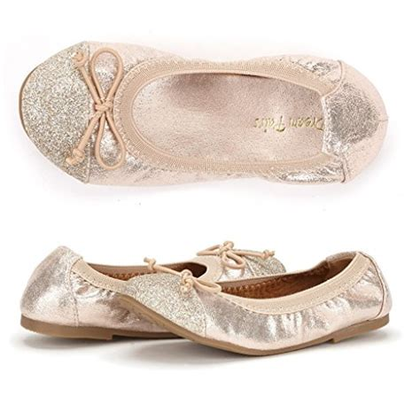 comfortable ballerina shoes dream pairs flexsole girl s summer ballet flats