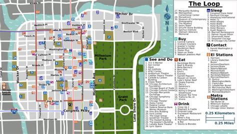 downtown chicago map pdf downtown chicago map pdf