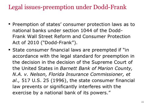 section 15 of consumer protection act prepaid card compliance master class c 052311