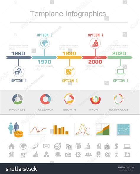 business timeline infographics vector design template