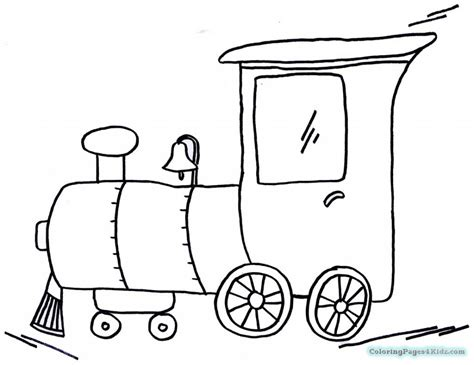 easy train coloring page simple train coloring pages coloring pages for kids