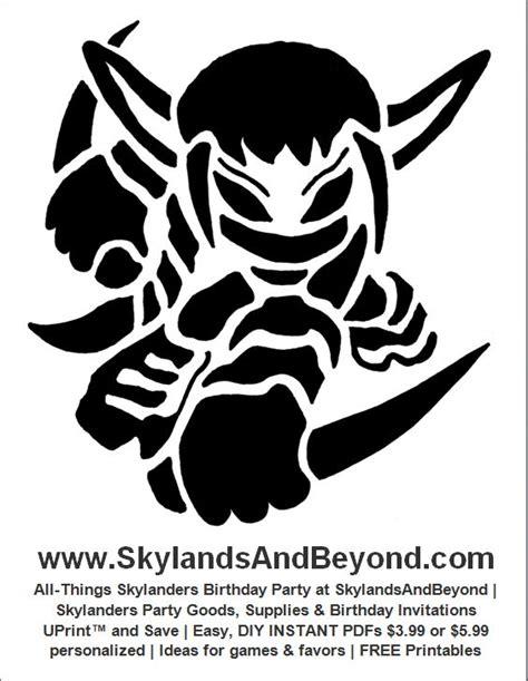 printable elf stencils free skylanders stealth elf pumpkin carving stencil at