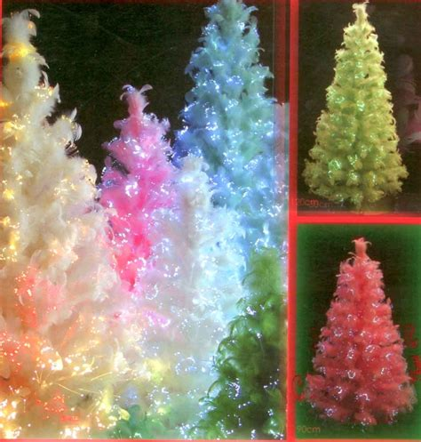 pink fibre optic christmas tree 20 best fiber optic