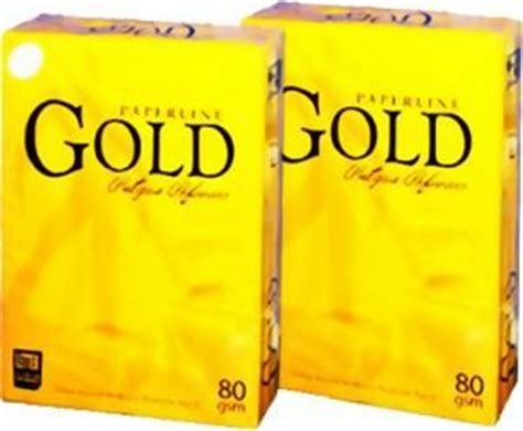 Sinar Dunia Color A4 80 Gr 500 Sheet It 1 gold paperline a4 copy paper id 6960490 product details