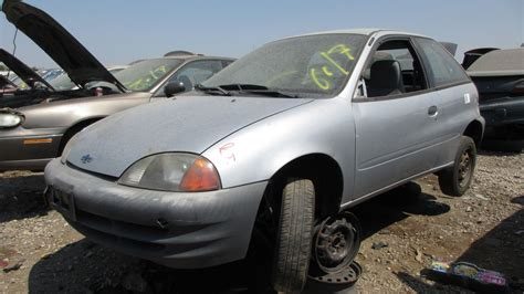 junkyard find 2000 chevrolet metro hatchback the truth about cars