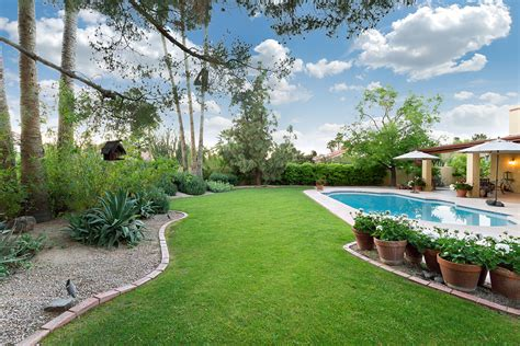 green backyard creating a garden for privacy glendale az homes for sale