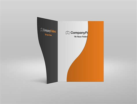 presentation psd template free psd serpentine business folder mockup template on