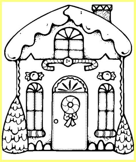 decorated house coloring pages imagenes de navidad para ni 241 os para colorear en l 237 nea
