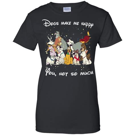 puppies make me happy shirt disney dogs dogs make me happy you not so much t shirt hoodies tank