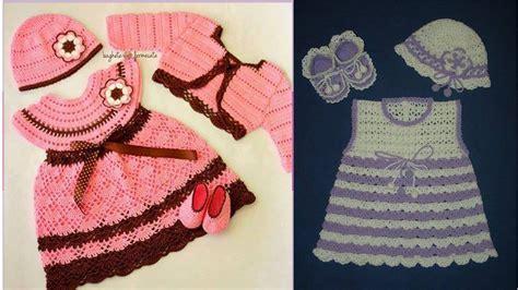 imagenes y patrones de vestidos tejidos para nias vestidos para bebes tejidos a crochet nuevos modelos solo