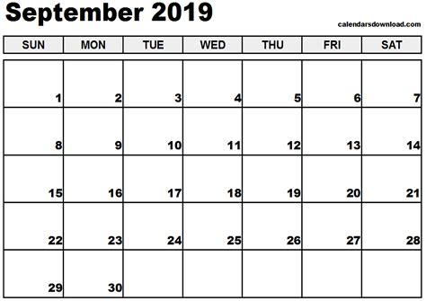september 2019 calendar september 2019 calendar