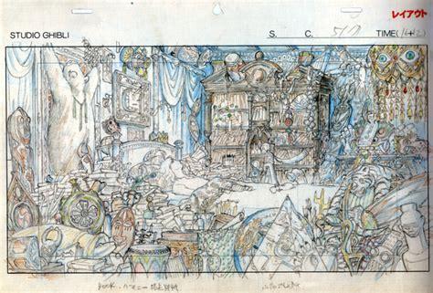 le layout en animation dessins du studio ghibli au mus 233 e d art ludique les