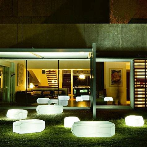 illuminated outdoor furniture illuminated outdoor furniture contemporary patio chicago by home infatuation
