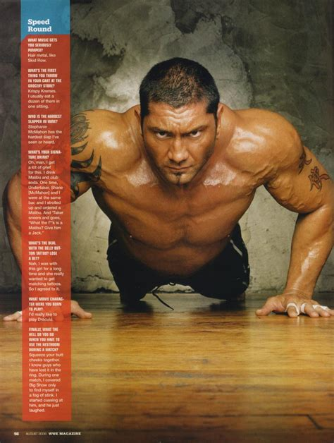 dave batista bench press dave batista train body and mind