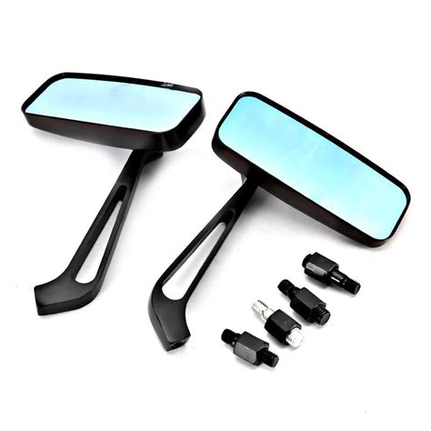 2pcs Set Motorcycle Rear View Handle Bar End Side Rearview 7 8 Mirror universal mirrors custom motorcycle chopper bike rearview