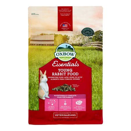 Oxbow Rabbit Food 10lb Go oxbow pet products essentials bunny basics rabbit all breeds small animal food 10 lb