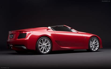 lexus lfa concept lexus lfa roadster concept car images widescreen exotic