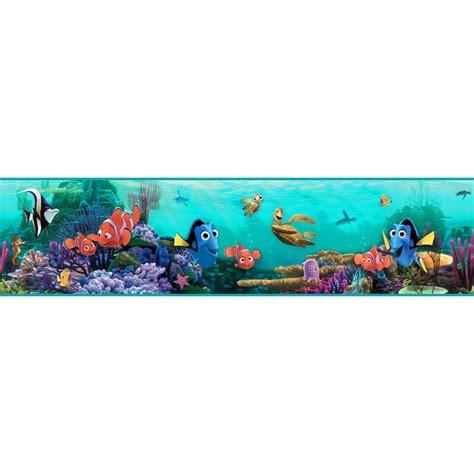 Finding Nemo Wall Mural tropical fish wallpaper amp border wallpaper inc com