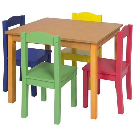 toddler wooden table and chairs wood tables and wooden chair at daycare furniture direct