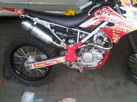 Knalpot Klx Dtracker Norifumi Megaboom Stainless baru jual knalpot racing kawasaki sport series ninjar rr