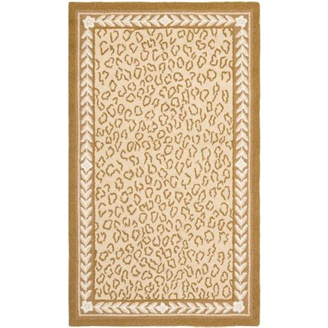 safavieh chelsea ivory 2 ft 9 in x 4 ft 9 in area rug