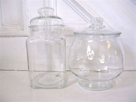 vintage apothecary jars candy buffet set of 2 by fishlegs