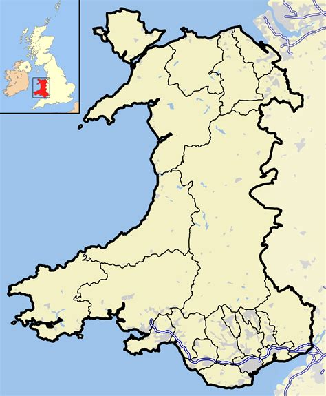 map of wales file wales outline map with uk png