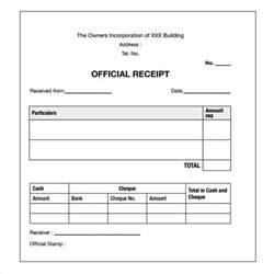 Template For Receipts by Payment Receipt Templates 9 Free Exles Sles Format