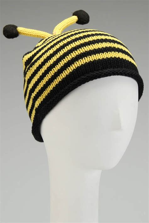 Bee Knit Hat nana knits bumble bee knit hat remy snezek stuff i want