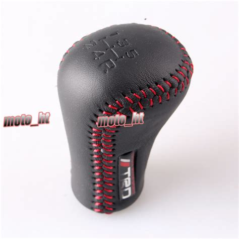 Trd Shift Knob by Manual Leather Shifter Shift Knob Stitch Trd Logo