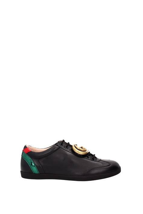 Gucci Sneakers List Black sneakers gucci leather black 437487a38i01064 ebay