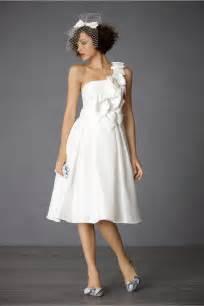 different styles of tea length wedding dresses