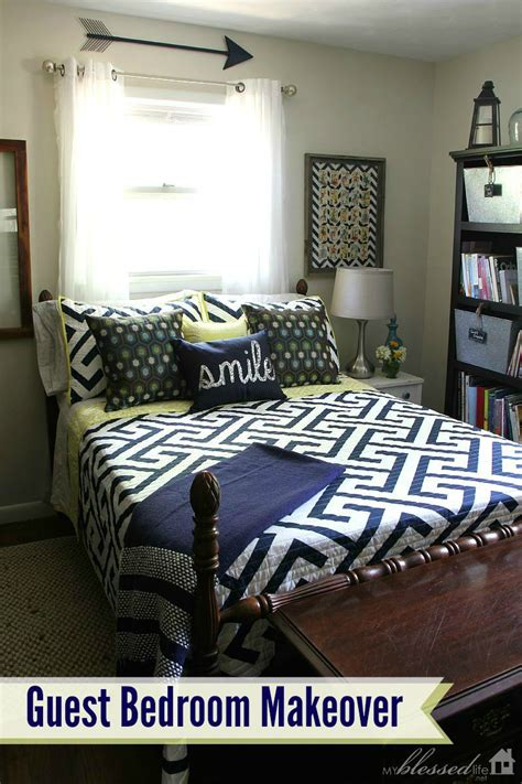 easy bedroom makeover simple guest room makeover