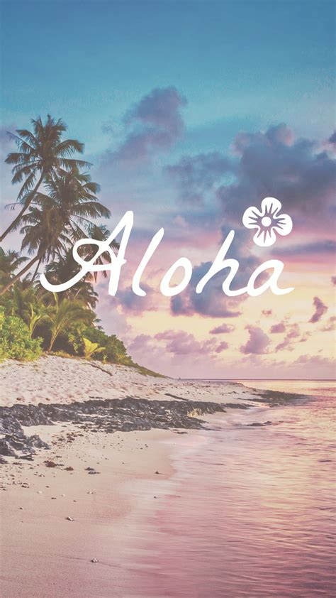 wallpaper tumblr aloha say aloha to this beautiful iphone wallpaper wallpaper