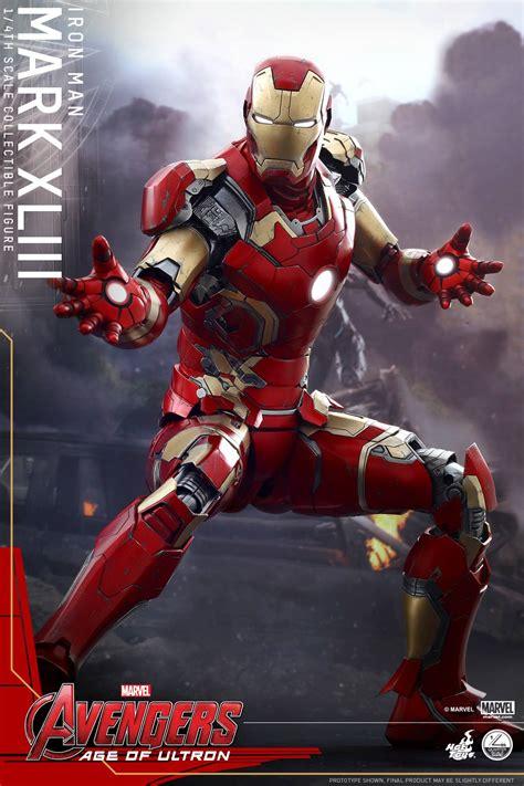 Toys Iron Xliii Age Of Ultron toys announces quarter scale iron