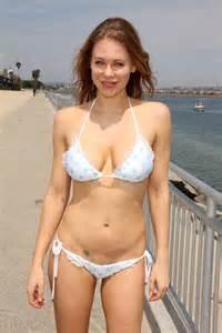 celebrity bikinis gone too far maitland ward in white bikini 19 gotceleb