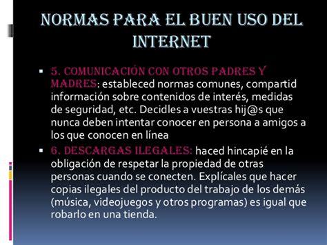 el buen uso de 8467039930 normas para el buen uso del internet