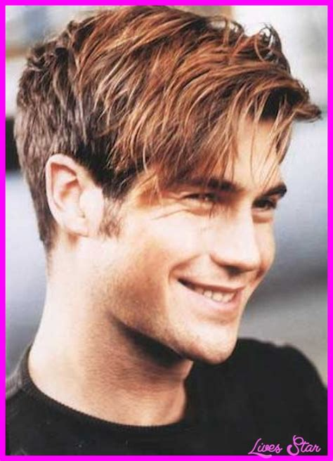 hairstyle that are short on top and longer on the bottom mens hairstyles short on sides long on top livesstar com