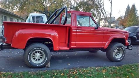 jeep gladiator lifted 1964 jeep gladiator 4x4 custom bed chevy v 8 p s