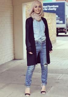 15 padu padan warna celana yang bagus untuk wanita muslimah model baju busana muslim terbaru