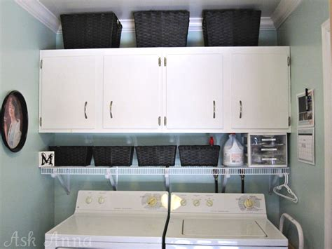 Organizing Laundry Room Cabinets Hems And Haws Cabinet Revelation