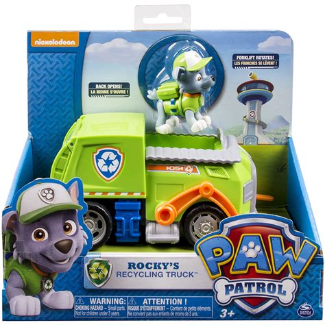 paw patrol boat manual nickelodeon paw patrol rocky s recycling truck vehicle
