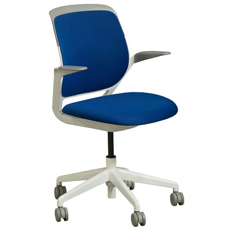 steelcase cobi chair dimensions steelcase cobi used mesh back conference chair blue