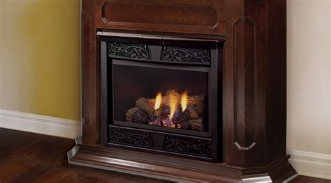 Monessen Chesapeake Vent Free Gas Fireplace With Wood