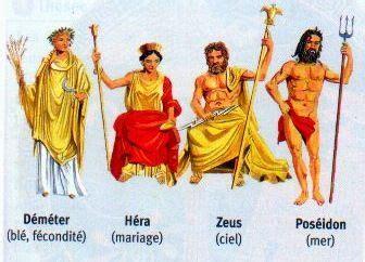 les bureaux de dieu ant arch 233 o les dieux grecs