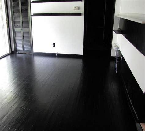 concrete floor paint black my future home